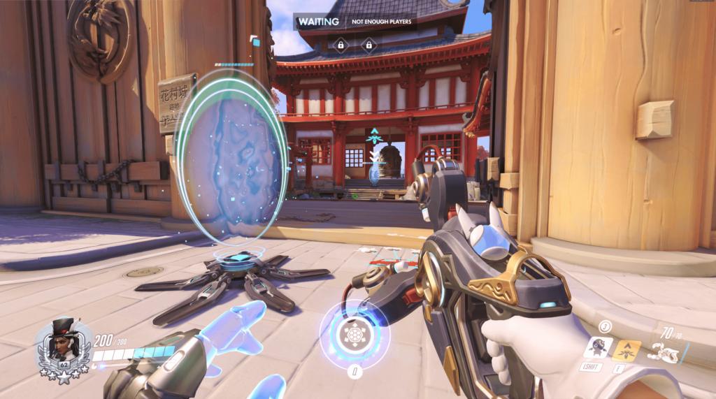 Symmetra attack rush teleporter hanamura
